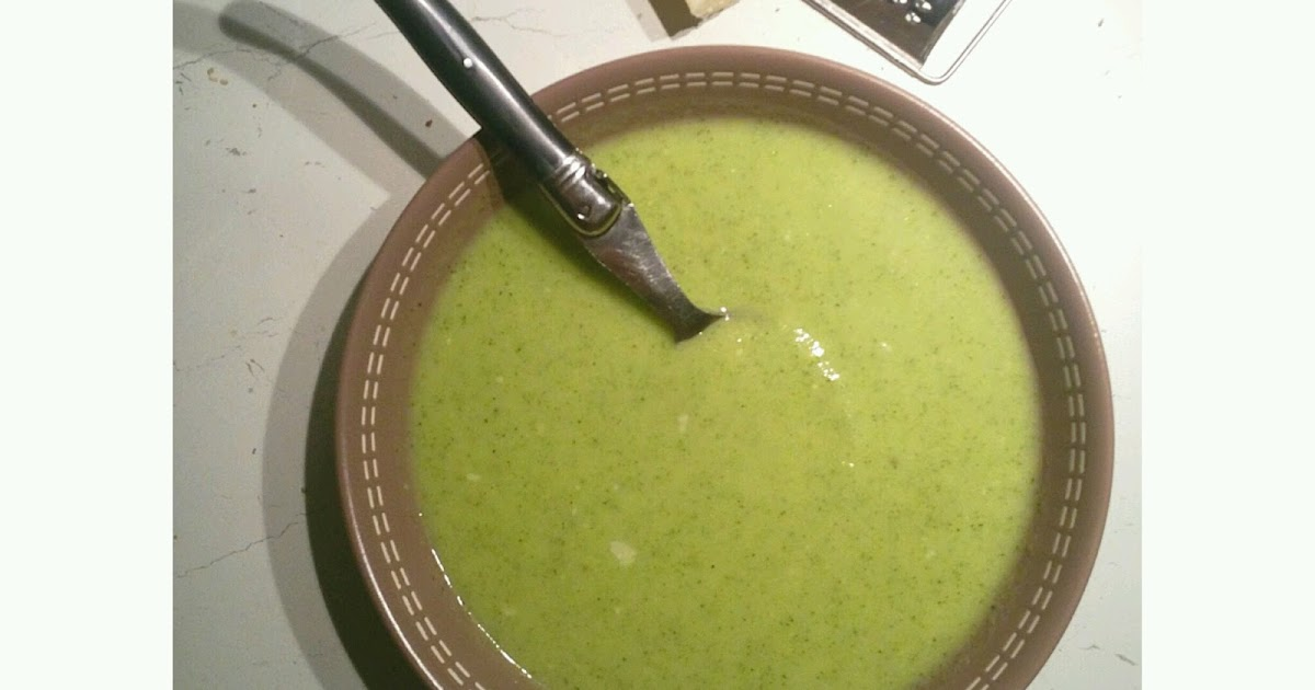 Saveurs d 39 ici cook enjoy recettes thermomix ou pas velout brocolis courgettes au lait d - Soupe de brocolis thermomix ...