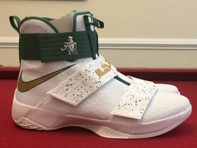 new concept 4c96c 62e13 ... First Look at Nike LeBron Soldier 10 Home amp Away PEs ...