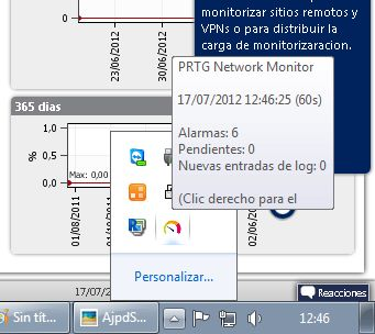 Añadir un nuevo sensor para monitorizar un servidor de base de datos MySQL desde Enterprise PRTG