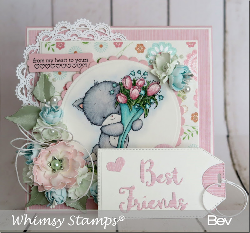 Bev-Rochester-whimsy-kitten-flowers1
