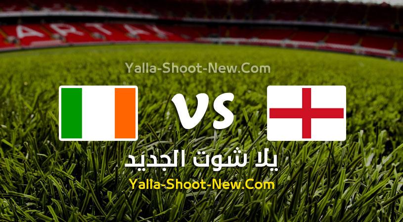 مباراة إنجلترا وإيرلندا