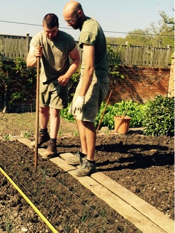 Gardeners at The Pig in Brockenhurst