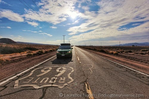 Jucy on Route 66 California