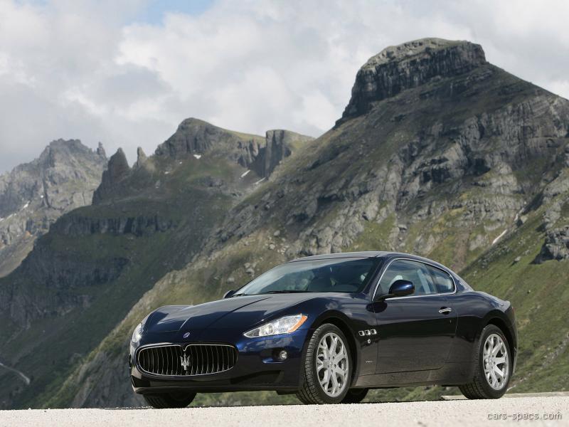 2008 Maserati GranTurismo Coupe Specifications, Pictures, Prices