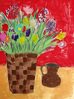 Chalk Pastel Still Life by Jack