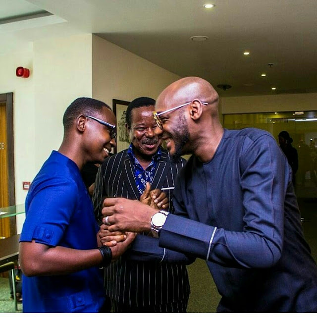 King Sunny Ade, 2Baba, Teju Babyface, All Smiles In New Pictures