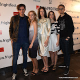 OIC - ENTSIMAGES.COM - Frank Ellrich, Polina Davydova, Sacha (Alexandra)  Khvaleev, Evgenia Zakharova  and Pavel Khvaleev at the Film4 Frightfest on Friday of   III  UK Film Premiere at the Vue West End in London on the 28th August 2015. Photo Mobis Photos/OIC 0203 174 1069