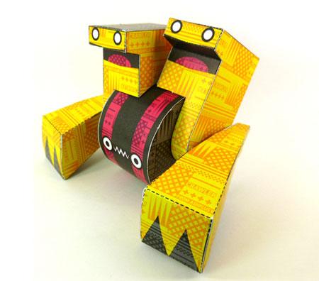 Yebot Paper Toy Crawler