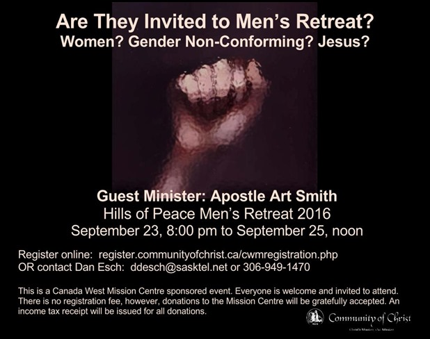 Are They Invited to Mens Retreat (2016) poster_Page_1