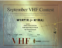 W1RT Rover 1st Place Sept VHF 2011