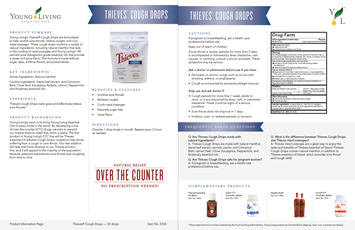 Thieves Cough Drops Info