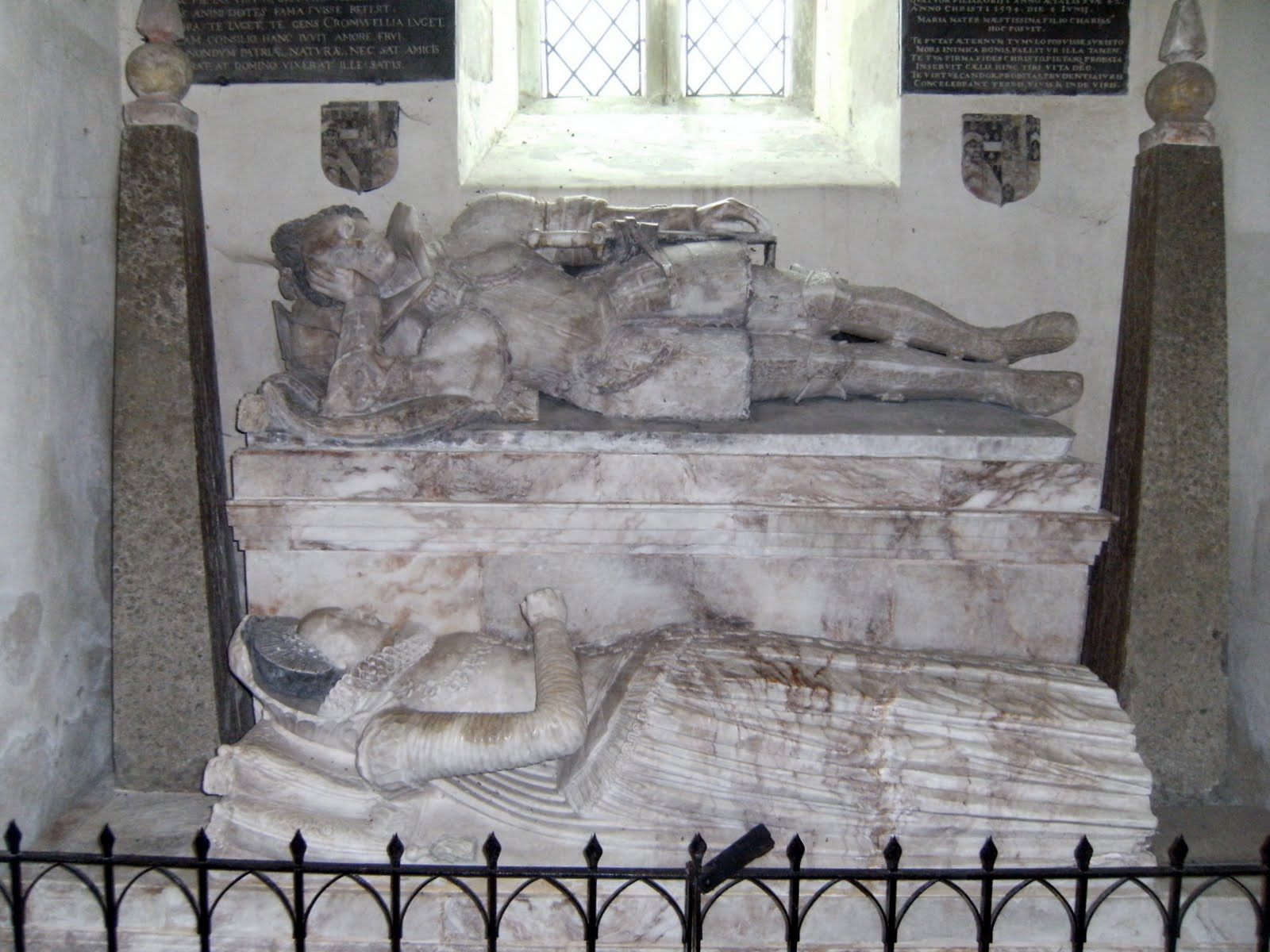 1006190021 Alabaster monument, Little Wittenham church