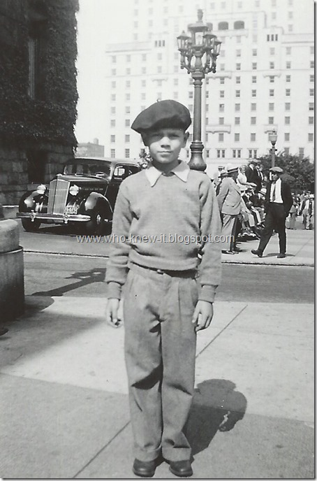 Gordon Levy Vancouver BC August 1936