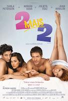 Resenha e cartaz do filme 2 Mais 2 (Dos Más Dos), de Diego Kaplan