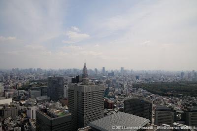 Panorama di Tokyo