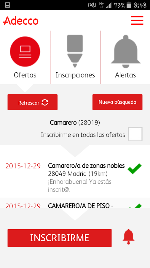 Adecco Empleate- screenshot