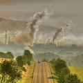 contoh polusi udara yang terjadi secara alami dan polusi industri