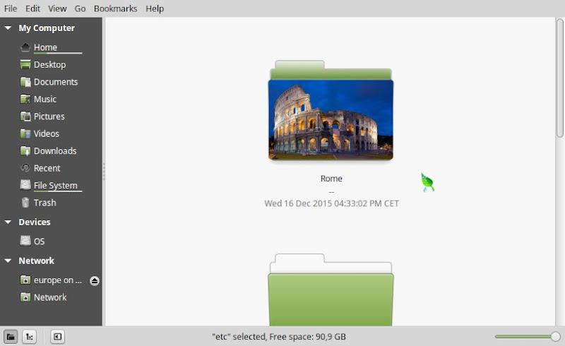 Rome Folder Icon