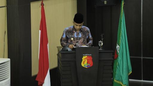 Pemko Solok Berikan Jawaban Atas Pandangan Umum Fraksi Solok Adil Makmur DPRD Kota Solok
