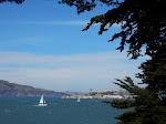 Alcatraz and some choppy waters