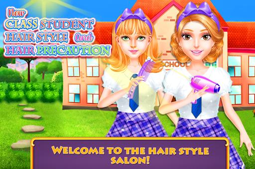 Nouveau style de cheveux d'étudiant de classe  captures d'écran 1
