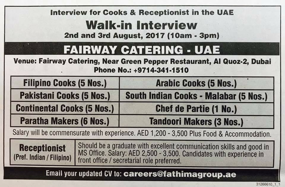 Hospitality Jobs in DubaiGCC Recruitments And latest Jobs 2017  Jobs In UAE. Flight Kitchen Jobs In Dubai. Home Design Ideas