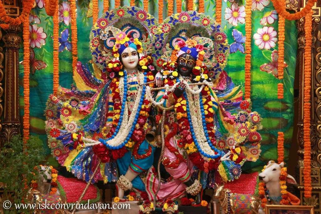 ISKCON Vrindavan Sringar Deity Darshan 18 Dec 2015 (8)