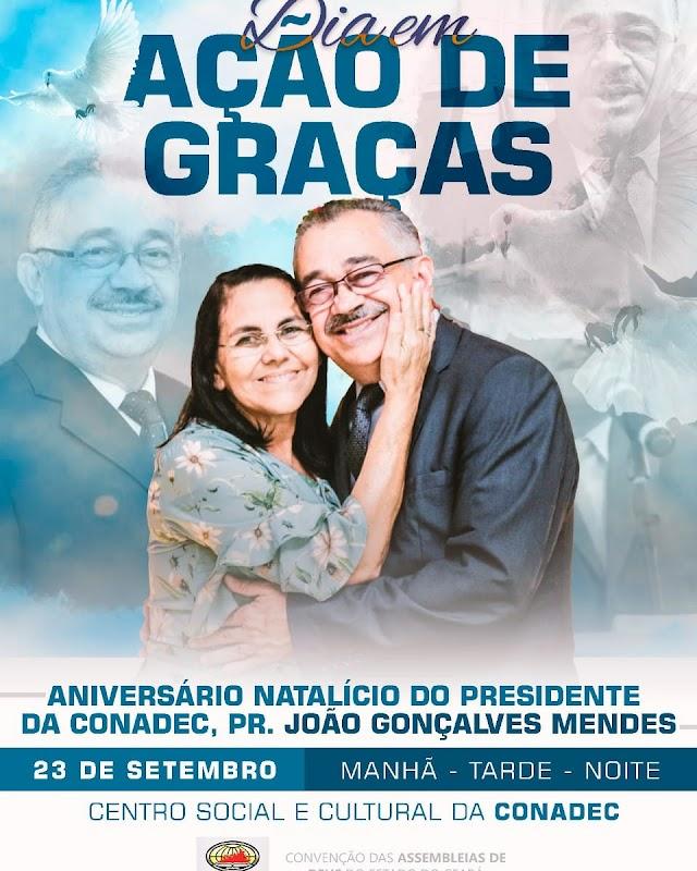 Pastoral cearense se reunirá para realizar culto de ação de graça pela vida do presidente da CONADEC