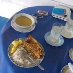 Un almuerzo de pescador