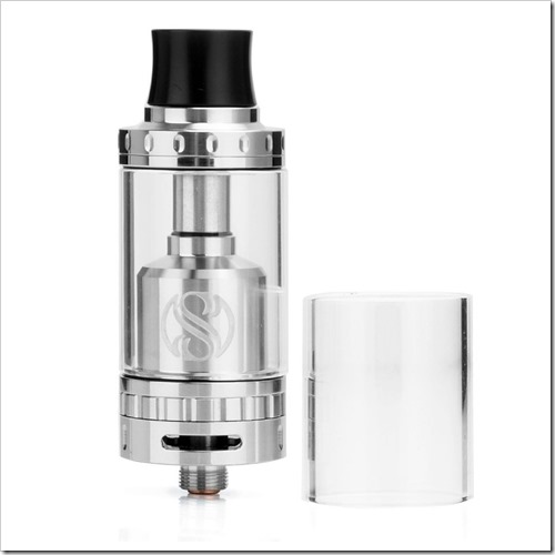 authentic-augvape-merlin-rta-rebuildable-tank-atomizer-silver-stainless-steel-4ml-23mm-diameter