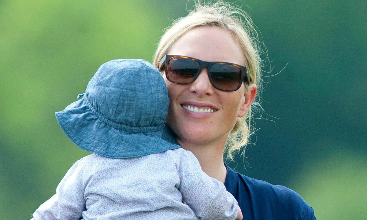 Zara Tindall's Two-Month-old Son Lucas Pictured for First Time
