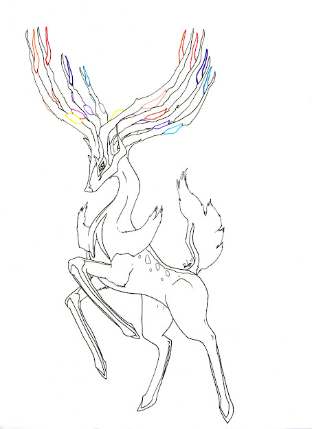 Pokemon Xerneas Coloring Pages Printable Free Coloring Pages For Stylish  Pokemon Coloring Pages Delphox