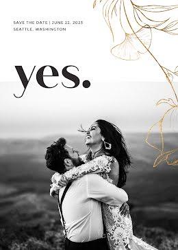 Jana & Hahn's Wedding - Save the Date item