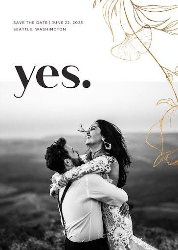 Jana & Hahn's Wedding - Wedding Invitation template