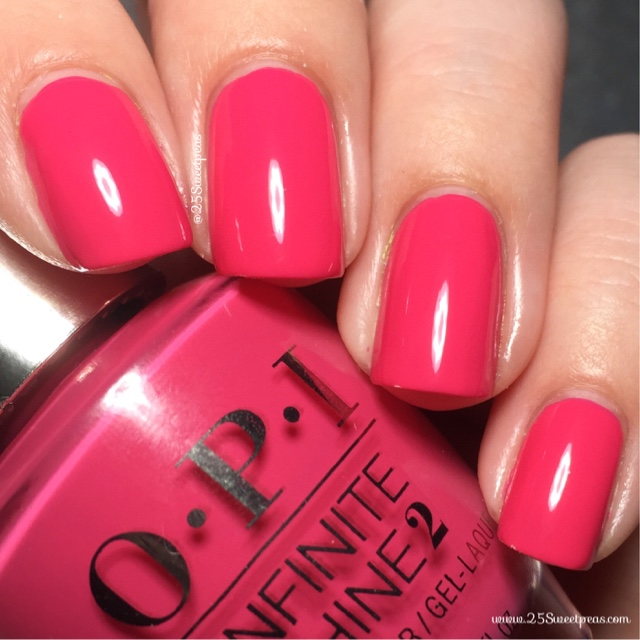 Opi Infinite Shine Strawberry Margarita 25 Sweetpeas