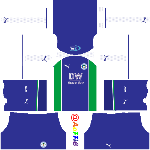 FTS 15 Kit Thai League: Wigan Athletic Kits 2018-2019