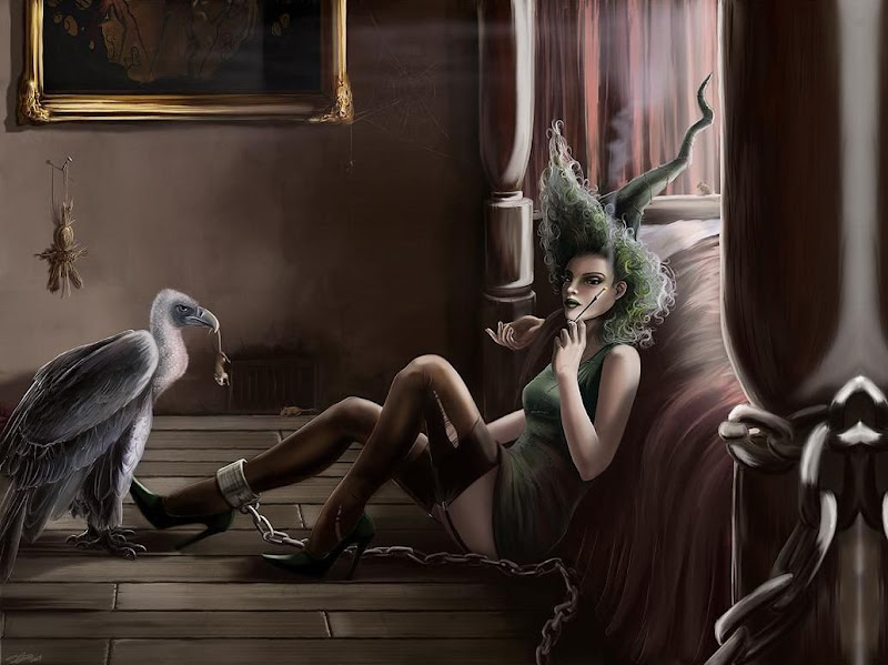 Beauty Of Heathen, Wicca Girls