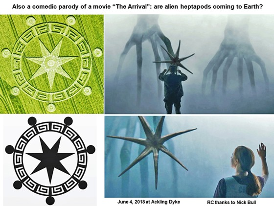 Símbolo do Círculo de Colheita dos Sete Anjos do Apocalipse na Terra 06