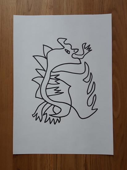 Cuadro dragón1