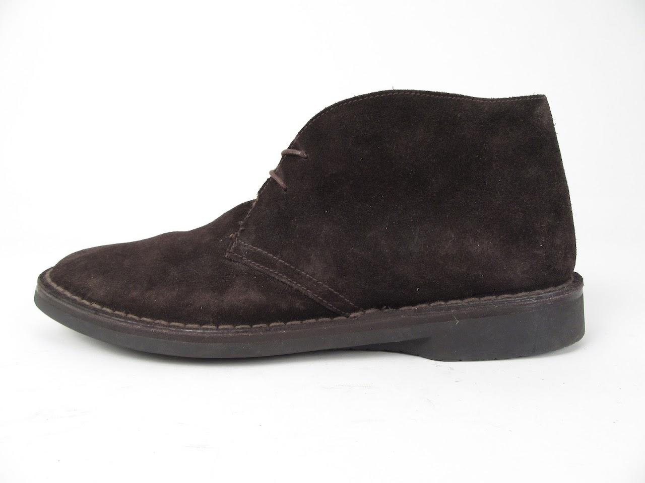 Prada Brown Suede Chukka Boot