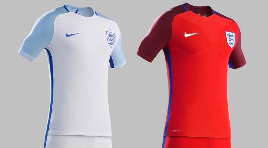 New England Euro 2016 Home Away Kits (Released)
