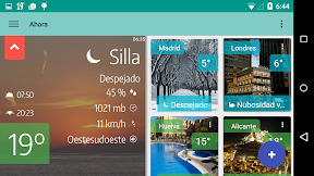 My Weather Indicator para Android multi-ciudad