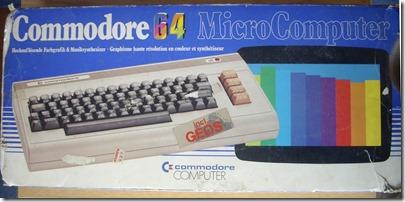c64 caja con geos