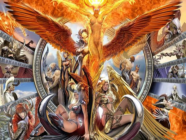 Fire Flame Demoness, Demonesses