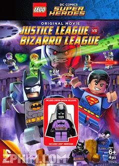 Lego: Liên Minh Công Lý Vs Liên Minh Bizarro - Lego DC Comics Super Heroes: Justice League vs. Bizarro League (2015) Poster