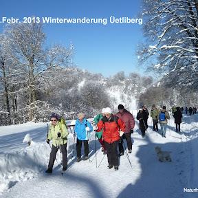 Winterwanderung Üetliberg
