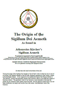 Cover of Paul Joseph Rovelli's Book The Origin of the Sigillum Dei Aemeth