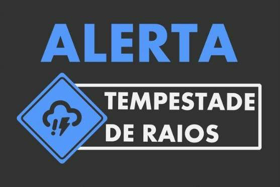 Defesa Civil de Minas Gerais publica alerta de Tempestade Severa