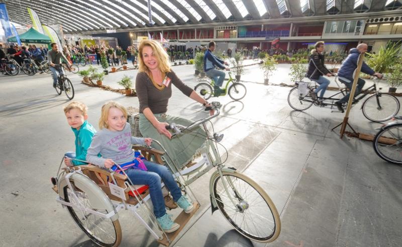 Fiets en Wandelbeurs 2.0 in de Jaarbeurs in Utrecht