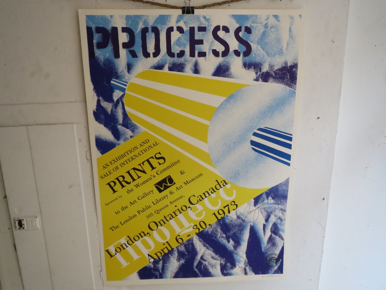 James Rosenquist Signed Exhibition Poster 5